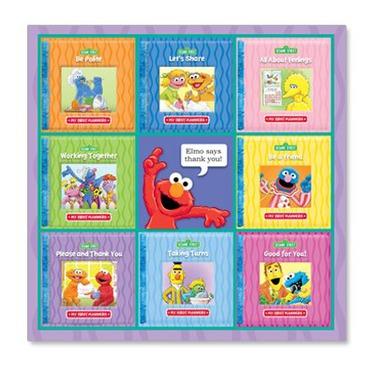 Sesame Street My First Manners Book Set