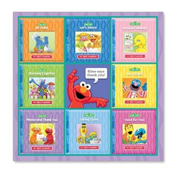 Sesame Street My First Manners Book Set