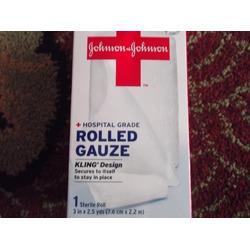 Johnson & Johnson Rolled Gauze