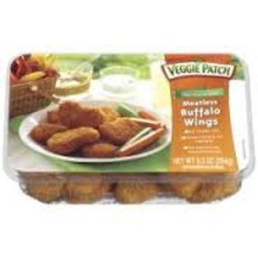 Veggie Patch Buffalo Wings Meatless