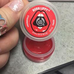 Body Shop Born Lippy Strawberry Lip Balm