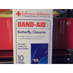 Johnson & Johnson Butterfly Closures
