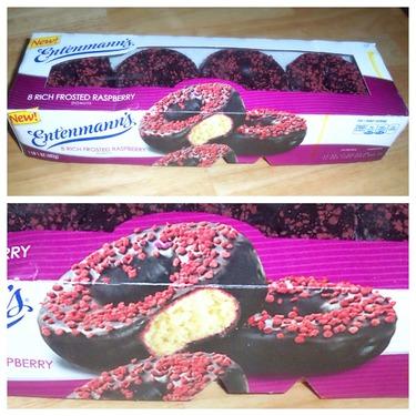 Entenmanns Raspberry Donuts
