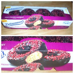Entenmanns Raspberry Donuts