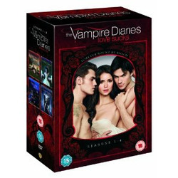 The Vampire Diaries Season 1-4 DVD Collection