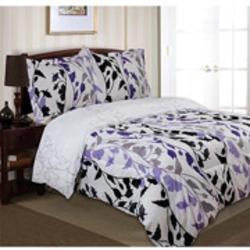 Divatex Home Fashions Printed Grace Duvet Set