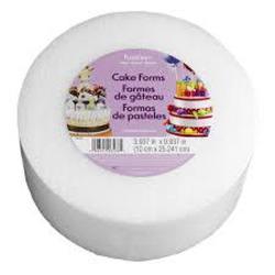 Styrofoam Cake Form