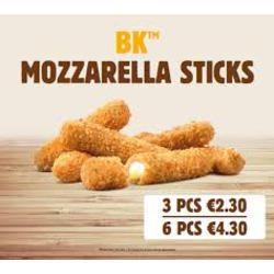 Burger King Mozzarella Sticks
