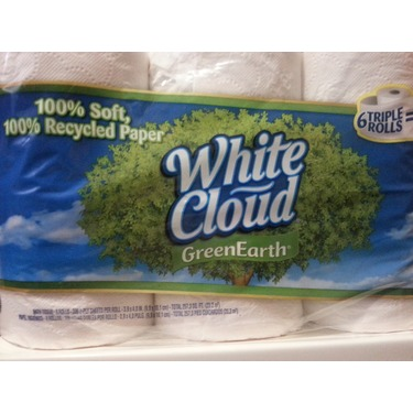White Cloud Recycled Toilet Paper