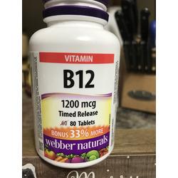 Webber Naturals B12