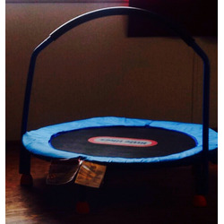 Little tikes single trampoline