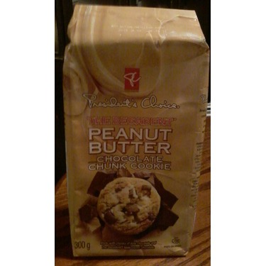 Presidents Choice peanut butter chocolate chunk cookie
