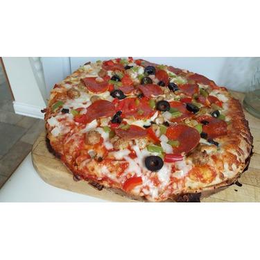 Delissio Rising Crust Pizza Deluxe