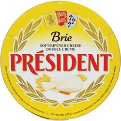 President Brie Double Creme