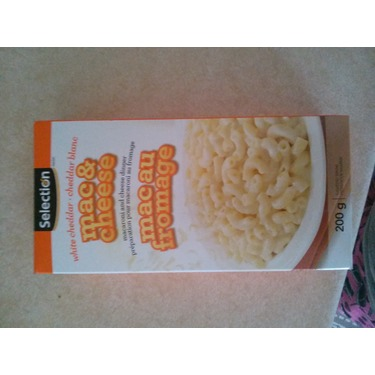 selection white cheddar mac & cheese