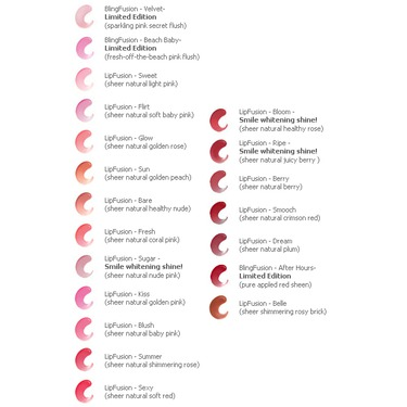 LipFusion Lip Plumper Color Shine with Micro-Injected Collagen
