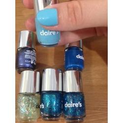 Claire's Nail Polish Set of 6