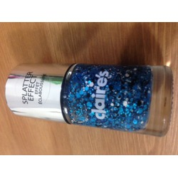 Claire's Splatter Effect nail polish