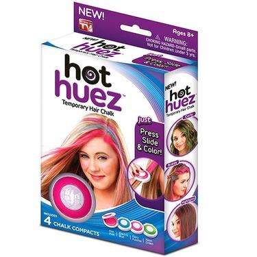 Hot Huez Temporary Hair Chalk, Blue
