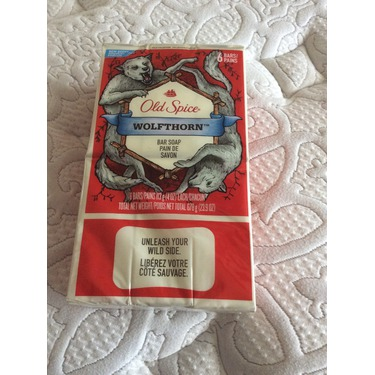 Old Spice Wolfthorn Bar Soap