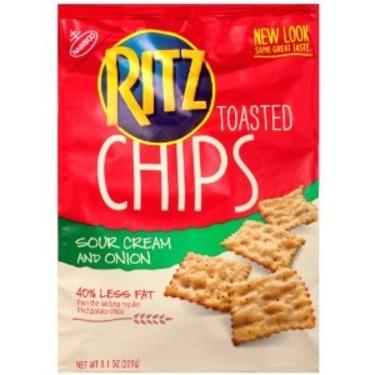 Ritz Chip Sour Cream & Onion Flavour