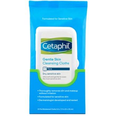 Cetaphil Gentle Skin Cleansing Cloths