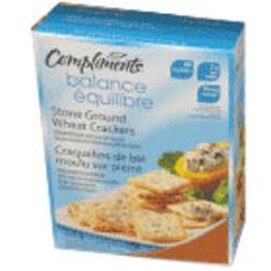 Our Compliments Stone Ground Wheat Crackers