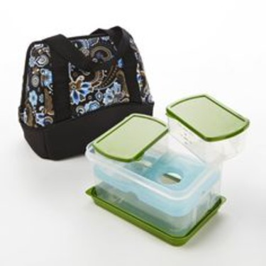 Fit & Fresh Lunch Bag Kit with Lunch Set