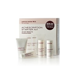 Dr. Patricia Wexler M.D. Acnescription Anti-Acne Starter Kit