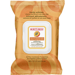 Burt's Bees Exfoliating Facial Cleansing Towelettes - Peach & Willow Bark