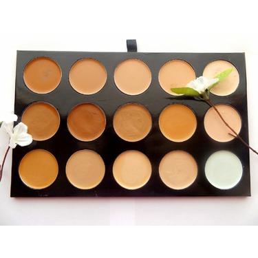 Shany Cosmetics Cream Foundation and Camouflage Concealer Pallette