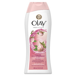 Olay Fresh Outlast Body Wash, Cooling White Strawberry