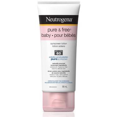 Neutrogena Pure & Free Baby Sunblock Lotion SPF 60