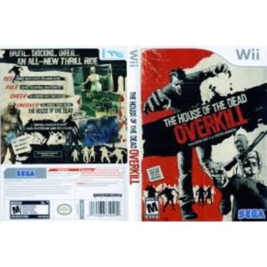 House of the dead over kill, Wii game