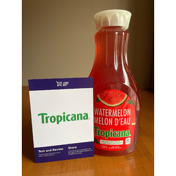Tropicana Watermelon Fruit Beverage