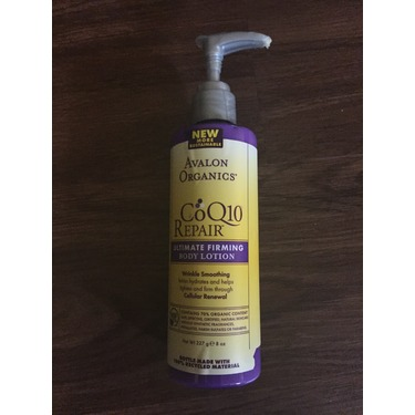 Avalon Organics Co Q10 Repair Ultimate Firming Body Lotion