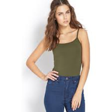 Forever 21 Favourite Scoop Neck Cami
