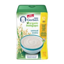 Nestlé Gerber Organic Baby Cereal