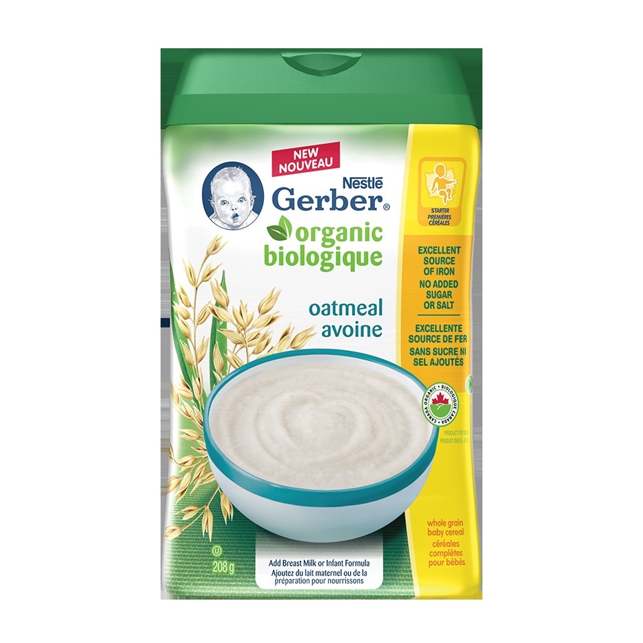 Nestlé Gerber Organic Baby Cereal Reviews In Baby Food