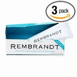 Rembrandt Whitening Toothpaste for Canker Sores