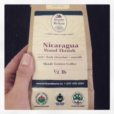 Birds&Beans;Nicaragua Wood Thrush