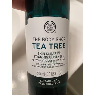 The Body Shop Tea Tree Skin Clearing Foam Cleanser
