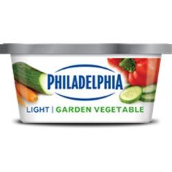 Philadelphia Light Garden Vegetable Cream Cheese