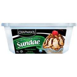 Chapman's Peanut Butter Sundae
