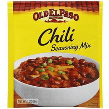Old El Paso Chili Seasoning