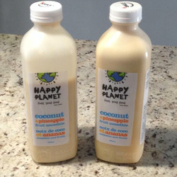 Happy Planet Coconut and Pineapple Fruit Smoothie