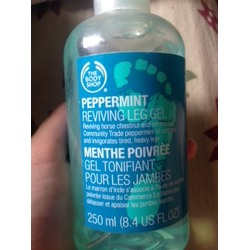 The Body Shop Peppermint Reviving Leg Gel