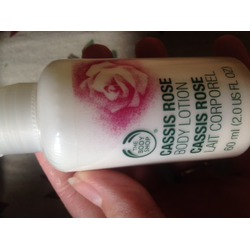 The Body Shop Cassis Rose Body Lotion