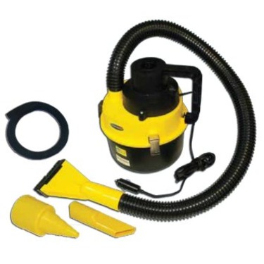 Powerful Auto Vacuum Wet & Dry Cleaner and Air Inflator 12v