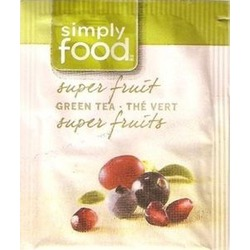 Simply Food Super Fruit Green Tea